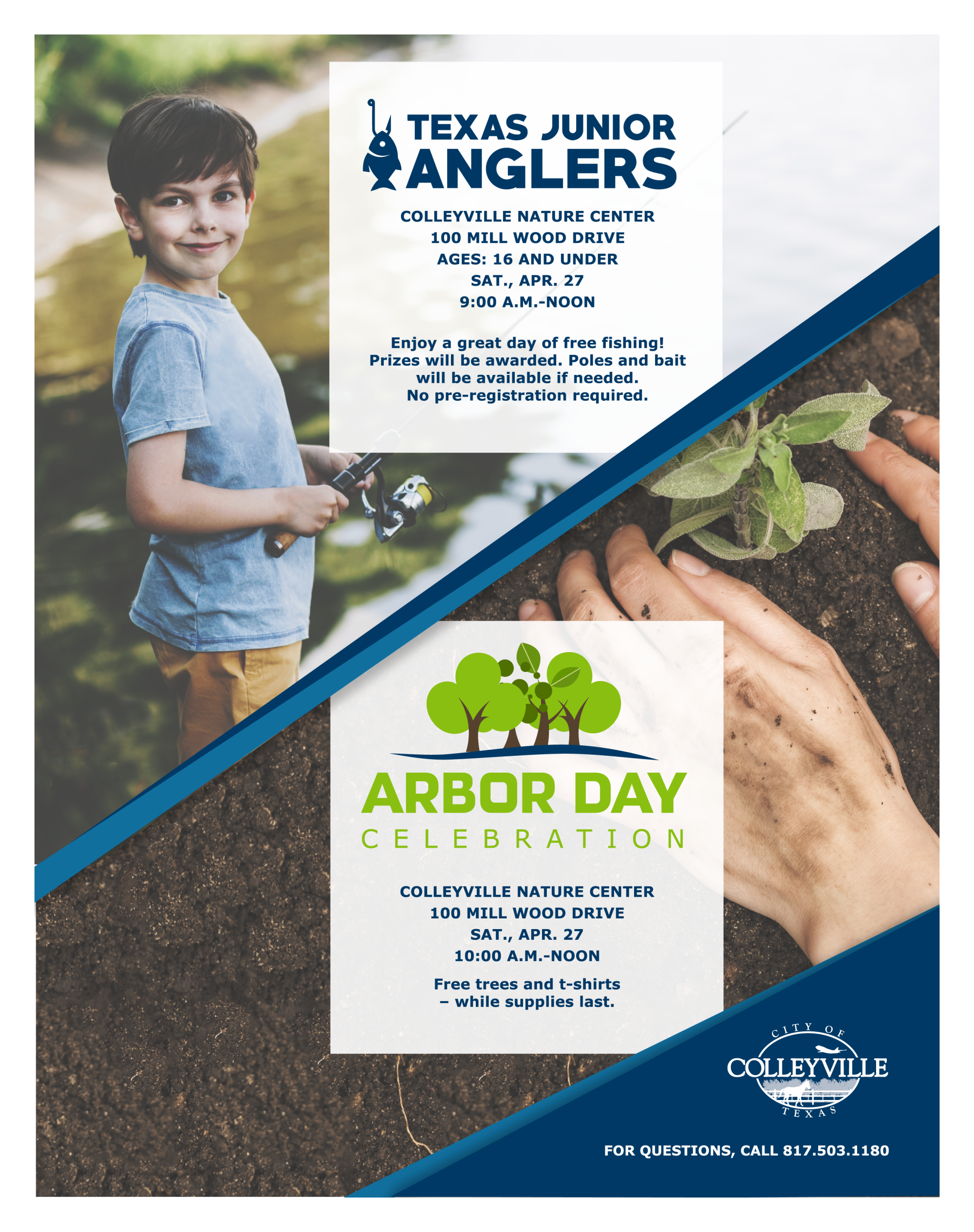 Angler Arbor Day