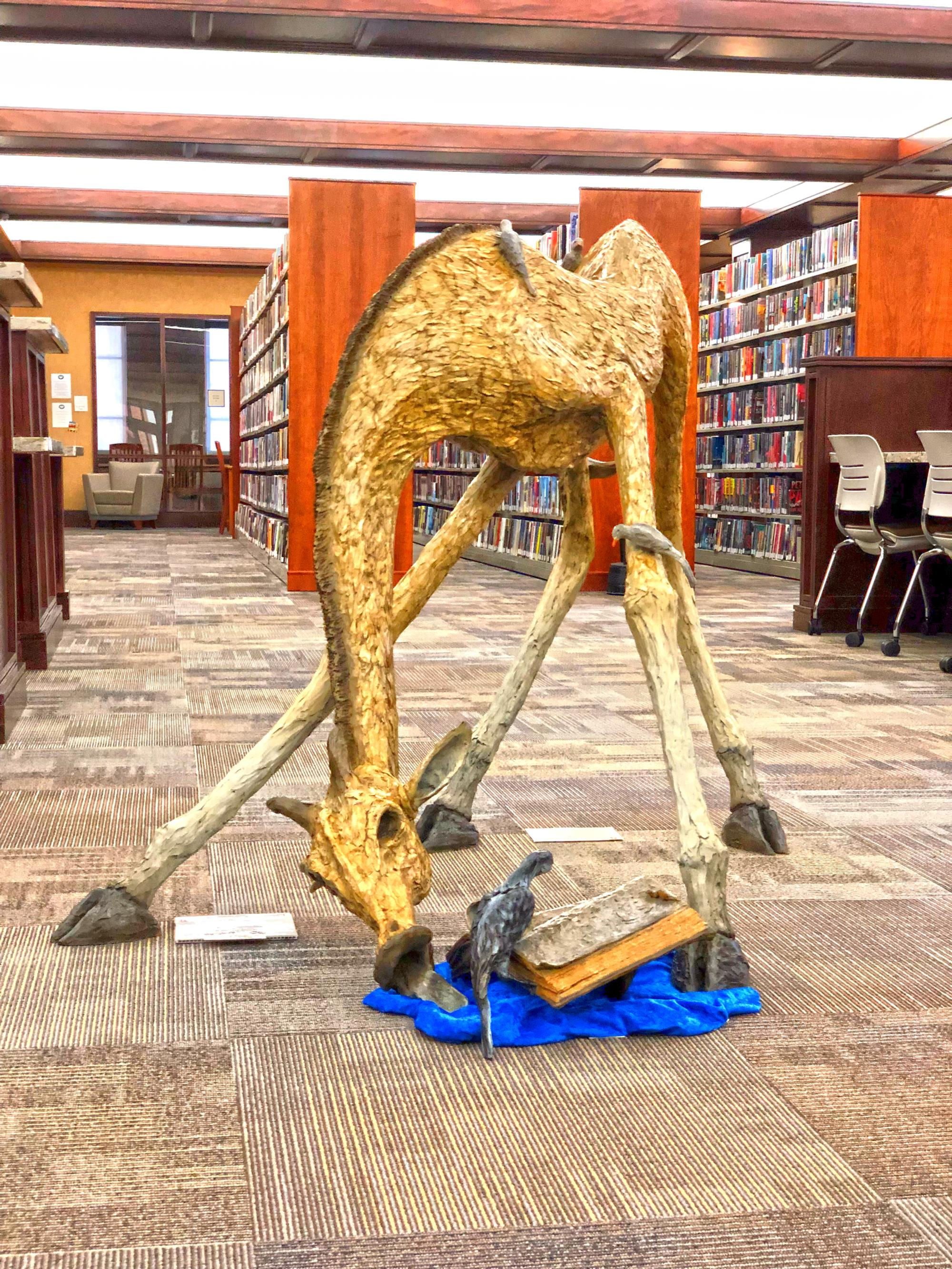 Library Sculpture